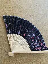 Japanese Wood And Paper Fan