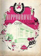 DUDLEY HIPPODROME 1938 OPENING SOUVENIR PROGRAMME.