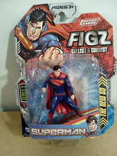 DC COMICS JUSTICE LEAGUE FIGZ SUPERMAN 3IN SERIES 2 COLLECT  & CONNECT  NIP