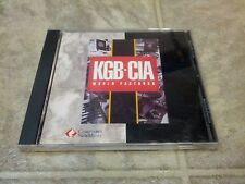 KGB-CIA World Factbook CD-ROM for DOS, Windows 3.1, and MMCD Player