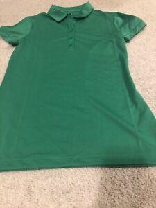NWT Nike Golf Polo Short Sleeve Women's Shirt Size XS Green