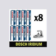 8x BOSCH Iridium Spark Plugs per Jaguar XK 3.6 4.2 LPG solo AJ8FT SV8TS