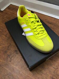 Adidas The Velosamba SPD Yellow UK6.5 Cycling Shoes Samba Sold Out BNIB