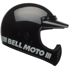 Bell Moto 3 Moto-3 Moto3 Motorcycle Helmet Size M Black Classic
