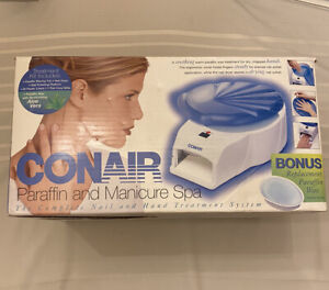 Conair Paraffin and Manicure Spa New In Box complete nail & hand treatment spa