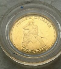 2010 jubilee  monarch  half crown  gold