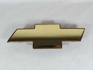 99-02 CHEVY SILVERADO GRILLE EMBLEM FRONT GRILL GOLD BADGE sign symbol logo
