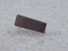 Original Nokia E72 E 72 USB Door | Abdeckung | Cover in Metallic Grey NEU