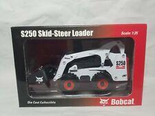 Bobcat S250 Compact Skid Loader - Wan Ho 6902337 - Diecast 1:25 Scale Model NIB