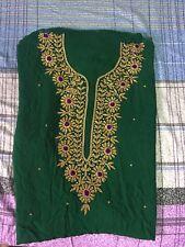 Salwar Kameez Karchupi Viscose Georgette Stone & Dupatta.UN-Stitched Fabric.