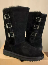 UGG KLEA 111452 TALL SIZE 9, BLACK WOMAN'S BOOTS, BRAND NEW. FAST SHIP AUTHENTIC