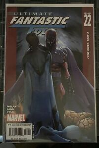 ULTIMATE FANTASTIC FOUR #22 (2005) Origin & 1st app of the MARVEL ZOMBIES