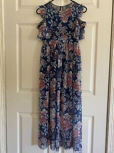 BONNIE JEAN® Girls 16 Off-Shoulder floral original lace Dress