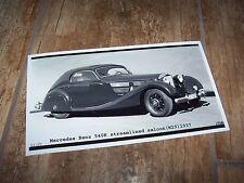 Photo de presse / Press Photograph  MERCEDES BENZ 540K Streamlined 1937 //
