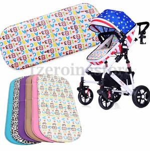 Washable Baby Trolley Stroller Pram Pushchair Soft Seat Liner Pad Cushion Mat 51