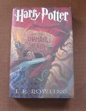 true 1st/1st HARRY POTTER CHAMBER SECRETS J.K. Rowling - HCDJ 1999 $17.95 -VG+