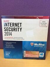 McAFEE INTERNET SECURITY 2014 Comprehensive, award-winning PC security  3 PCs