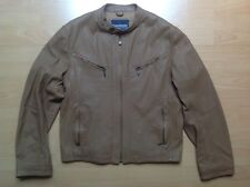 LAMBRETTA L Veste CUIR LEATHER Jacket (Scooter, Vespa) COLLECTOR !