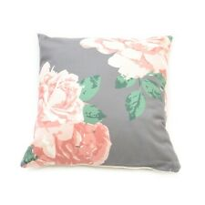 Pink and Grey Large Floral Cushion - Cancer Research UK