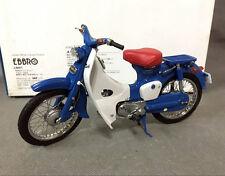 Rare, EBBRO, 1/10, DieCast Bike, Honda, Super CUB C100, motorcycle, 10026, Blue