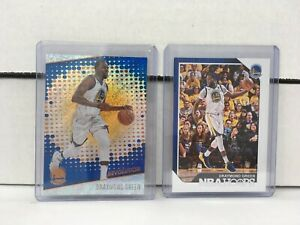 Draymond Green (2) Collectible NBA Basketball Cards NM in Cases Excalibur Hoops