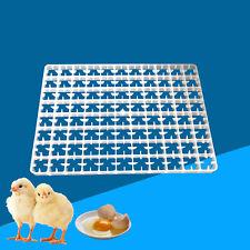 New listing 5x 88 Egg Incubator Tray Chicken Breeding Machine Incubator Storage Container Us