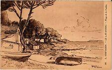CPA Le Lavandou - Plage de la Faviere (275928)