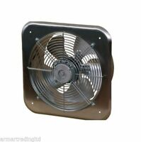 "Metal Industrial Extractor Fan Ducting Size 320mm 12.6"" 1300rpm 1520m3/h C300"
