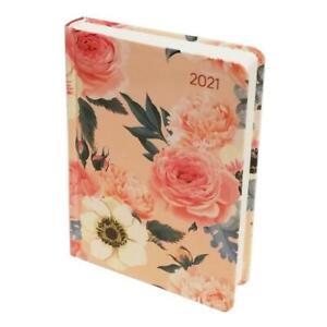 Alpha Edition Agenda Giornaliera 2021 15x11 cm Rose