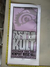 MB/2002 Rock Roll Concert Poster Thrill Kill Kult Mike Martin LE#100 Columbus OH