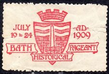 1909 Bath Pageant Historical Stamp