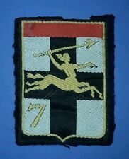 French 7th Armoured Brigade Insignia Patch.