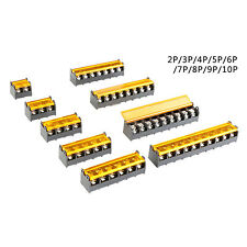 9.5mm 300V 30A Phenolic Barrier Terminal Block Strip Cable(2-10P)Various Type