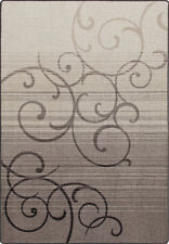 "2x8 Milliken Whispering Wind Pewter Casual Scrolls Area Rug - Approx 2'1""x7'8"""