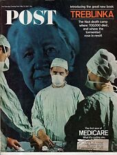 1967 Saturday Evening Post May 20 - Michael Caine; Treblinka Death Camp Revolt