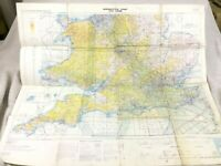 RAF Military Map Balkans Ukraine Eastern Europe Flight Path Chart Routes