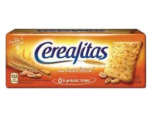 Cerealitas Wholegrain Crackers Galletitas Wholesale Bulk Box, 200 g / 7.1 oz ea