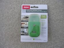 USB home nightlight charger LED Nightlight USBNL4R  New in Package