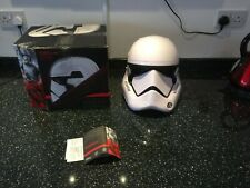 More details for star wars the black series first order stormtrooper premium electronic helmet