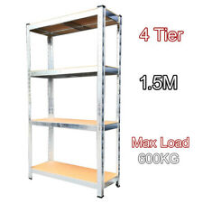 (1500 x 750 x 300) mm heavy duty boltless metal steel shelving shelves storage