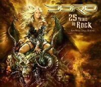 Doro - 25 Years in Rock - (Box-Set, CD+2 DVDs)