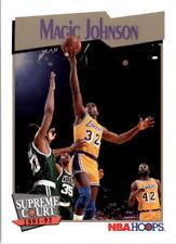 Magic Johnson Hoops #473 1991/92 NBA Basketball Card