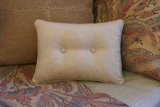 New Custom Ralph Lauren Coco Palm Accent Pillow 2 Button Jacquard