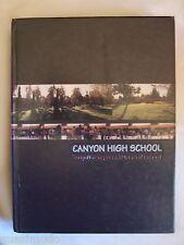 2002 CANYON HIGH SCHOOL YEARBOOK , ANAHEIM, CALIFORNIA  THE LEGEND