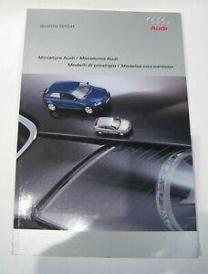 Catálogo Catalogue Audi Reference Guide Collectors Collection Boutique