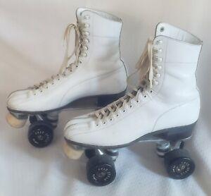 Vintage Hyde Roller Skates Super -x 6 Size 9-9.5