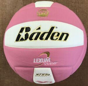 Baden Lexum 450 Composite Pink/White NFHS Volleyball