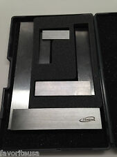 """ENGINEERS SQUARES 90º PRECISION RIGHT ANGLE SET OF 3 - 2"""" 4"""" 6"""" DIN STANDARD 875"""