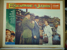 ESCAPADE IN JAPAN, orig 1957 LC #3 (Teresa Wright, Cameron Mitchell)