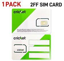 *BRAND NEW!* Cricket Wireless 4G LTE Mini (2FF) SIM Card
